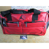 Maleta Jordan Duffle All World Gym Red Bright Ropa Y Tenis