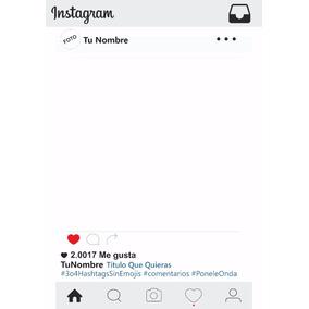 Marco Para Fotos Y Fiestas Instagram 2017 Y Otros Modelos