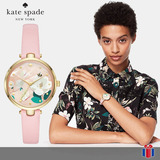 Reloj Kate Spade Ksw1413 Park Negro Flor 60% - Original