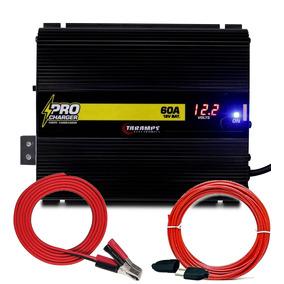 Kit Detoner +fonte Automotiva Taramps Charger 60a Voltimetro