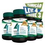 04 - Quarteto Mágico - Cálcio+magnésio+vitamina D3+k2