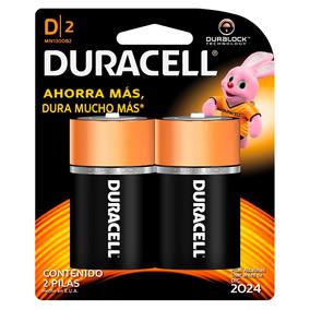 Pila Duracell Alcalina D Con 2 Pilas