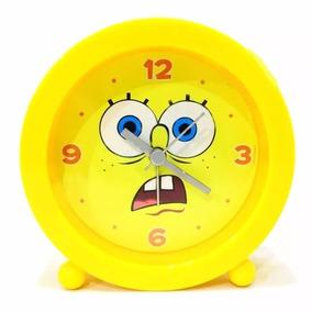1fc67e96031 Despertador Bob Esponja - Relógios no Mercado Livre Brasil