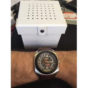 Relógio Diesel Couro Marrom