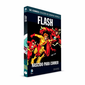 Graphic Novels Eaglemoss Flash Nascido Para Correr Volume 44