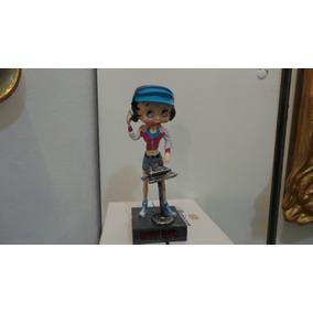 Coleção Boneca Betty Boop Salvat Disc Joquei Número 37 Rara!