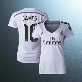 Camiseta Real Madrid Mujer Imitacion - Camisetas en Mercado Libre ... d21f1cdfb36a7