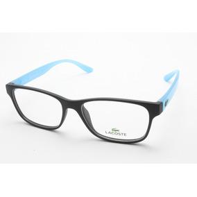 ce55e3fc720a7 Armacao Oculos Acetato De Grau Lacoste - Óculos no Mercado Livre Brasil