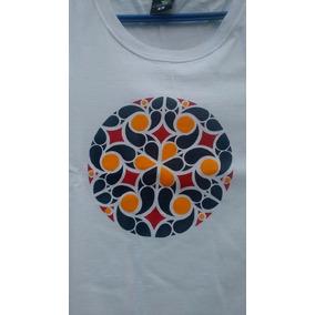 Camiseta Stencil - Mandala A