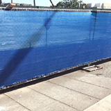 Obamalla Malla Raschel 90% Azul De 2.1x10m