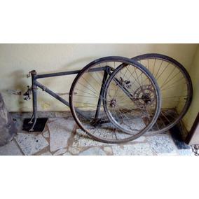 Peças Caloi 10 Antiga, Quadro De Bicicleta, Rodas E Encaixes