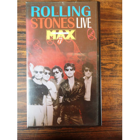 Fita Vhs Rolling Stones-live At The Max