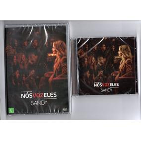 Kit - Sandy-nos Vos Eles (dvd+cd 2018 -orig. Lacrados)