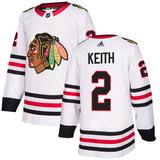 Camisa Jersey Nhl Chicago Blackhawks 3 Hockey  2 Keith 484cd899ab4