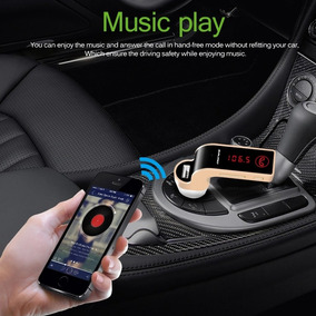Onever 4 Em 1 Sem Fio Bluetooth Mãos Livres Transmissor Fm C