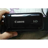 Filmadora Canon Vixia Hf R700 Entrada Pra Mic Direcional