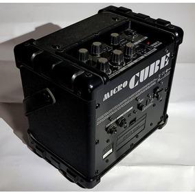 Amplificador Dsp Roland® Microcube® Para Guitarra/ Micrófono