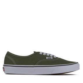 Tenis Vans Authentic Verde Militar Original A38emow2