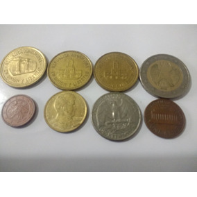 Moedas Estrangeiras Coleção Euro, Dollar