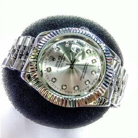 590efb1ceaa Relogio Mk Feminino Prata Imita O Masculino Rolex - Relógios De ...