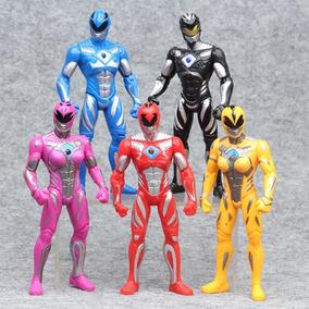 Power Rangers Bonecos De Ação Articulados