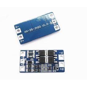 Placa Proteção Bateria Lítio 18650 2s 10a Frete 10,00 Reais