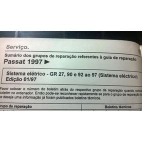 Manual Reparações Sistema Elétrico Passat 1996