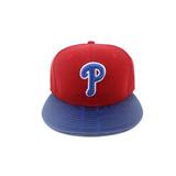 Boné New Era 5950 Philadelphia Phillies Double Vermelho azul 4bb107f42e3