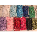 Flores De Raso De 30 A 35mm X 50u. Varios Colores! Oferta!!