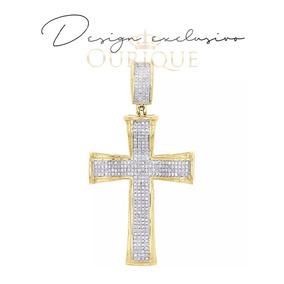 9ab32ec2e8971 3834 Pingente De Sol Bem Grande Com 7 Diamantes Ouro 18k - Pingentes ...