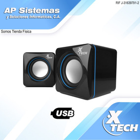 Cornetas Xtech Xts-110 Usb 3.5mm 5w