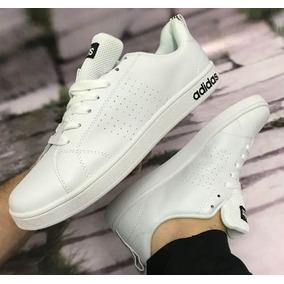 f775050a45 Zapatillas Adidas Neo Negras Con Rayas Blancas - Tenis Adidas para ...