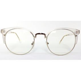 9abe46ac9da57 Armacao De Oculos Transparente Retro - Óculos no Mercado Livre Brasil