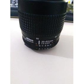 Lente Nikon Af Nikkor 35-80mm 1:4-5.6d