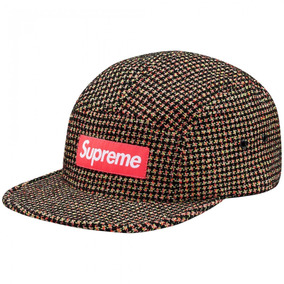 Gorra Supreme - Boucle Houndstooth Neon