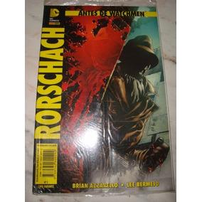 Rorschach Antes De Watchmen 03 Revista Em Quadrinho