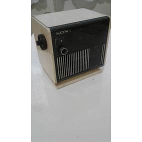 Radio Relogio Sony Digimatic Plaquetas Antigo E Raro Anos 70