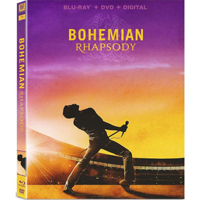 Bohemian Rhapsody Bluray + Dvd + Copy Dig Slipcover Importad