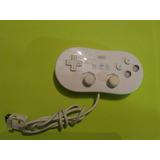 Control Clasico Wii Nitido Buen Estado