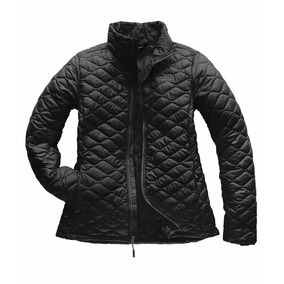 The North Face Chamarra Thermoball Mujer (negro Mate)
