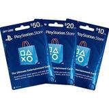 Psn Play Station Network Card $10 Para Store Usa