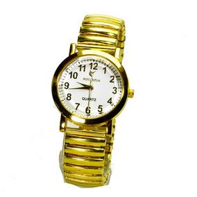 dda3077655b Relógio Feminino Pulseira Malha - Relógios De Pulso no Mercado Livre ...