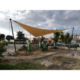 Malla Sombra Rashel 90% 4x6 Cafe