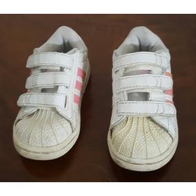 488b2bea8 Adidas Superstar Rosa Bebe - Ropa y Accesorios Blanco en Mercado ...