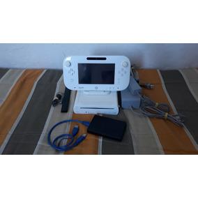 Wiiu Desbloqueado Hd 1tb Com 100 Jogos [usado]