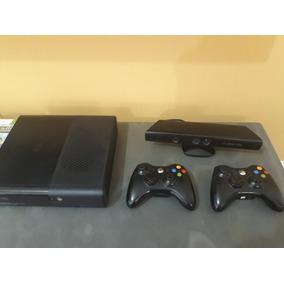 Xbox 360 Desbloqueado 2 Manete + Kinect + 2 Jogos Originais