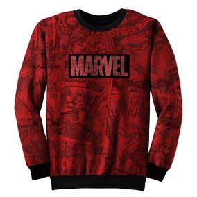 Blusa Moletom Marvel, Homem Aranha Vingadores Homem De Ferro