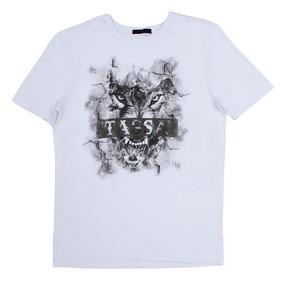 Camiseta Masculina Tassa Branca 23888 0e6970496119b