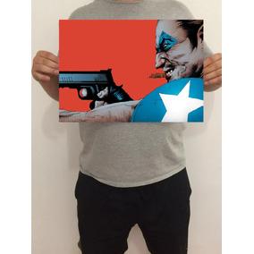 Pôster Comediante Watchmen 43x32 Cm