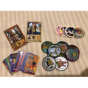 Tazos Lig Mon Digimon Titanium Bob Esponja Dragon Ball Z